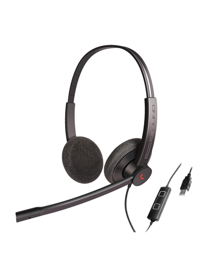Epic 301-302: Entry Level UC/USB Headsets For Office