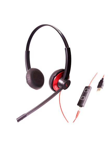 Epic 501-502: UC Headsets With 3.5mm And USB Connections For CC&O